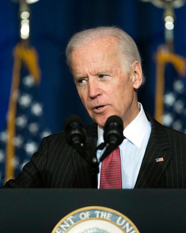 Joe Biden Leads Trump By 11 Points In New Poll Promo Image