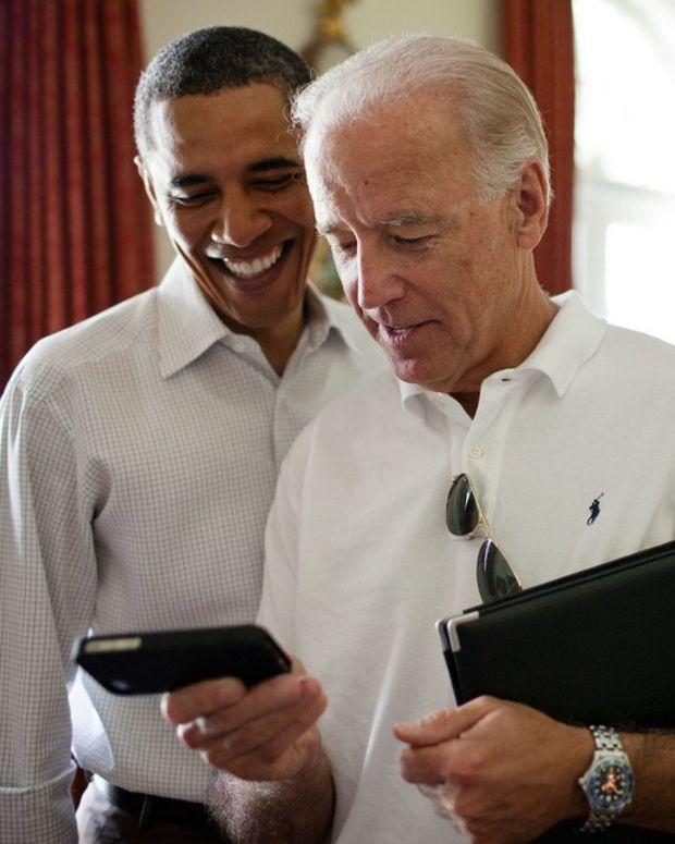 Obama Writes A Birthday Meme For Joe Biden Promo Image