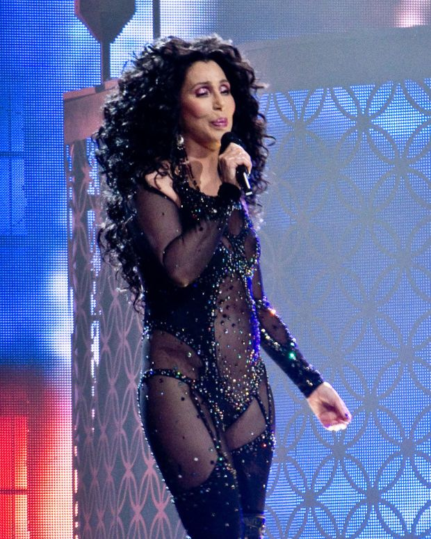 Cher Questions Relationship Between Donald And Melania Promo Image