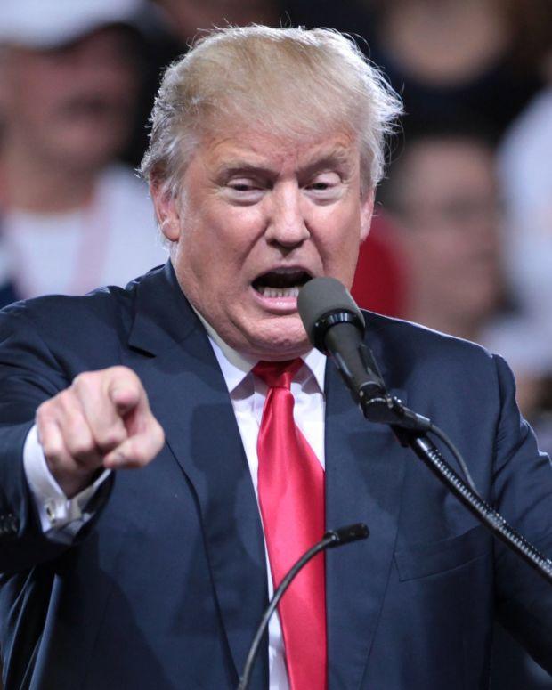 Trump Blasts CNN And Praises Fox News Promo Image
