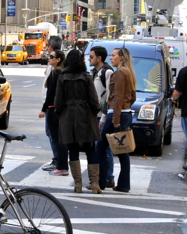 NY Times Reporter: White Women Force Me Off Sidewalk Promo Image