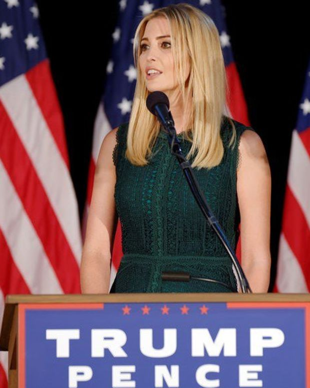 Ivanka Pictured Looking Glum Upon Returning To Work (Photos) Promo Image