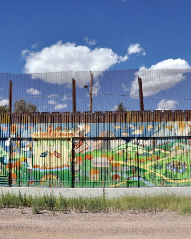 Woman Found Hanging From Mexico Border Fence (Photos) Promo Image