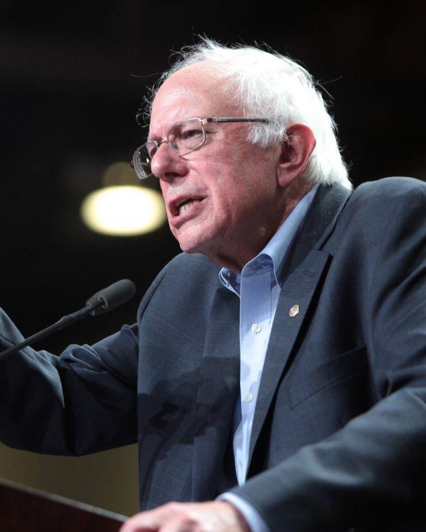 Trump And Sanders Bicker Over New Health Care Bill Promo Image