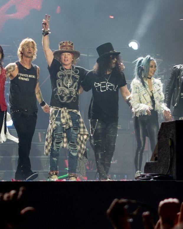 Guns N' Roses Frontman Axl Rose Slams Donald Trump Promo Image