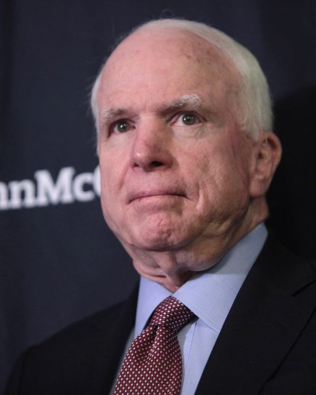 McCain To Trump In Op-Ed: Stop Attacking The Press Promo Image