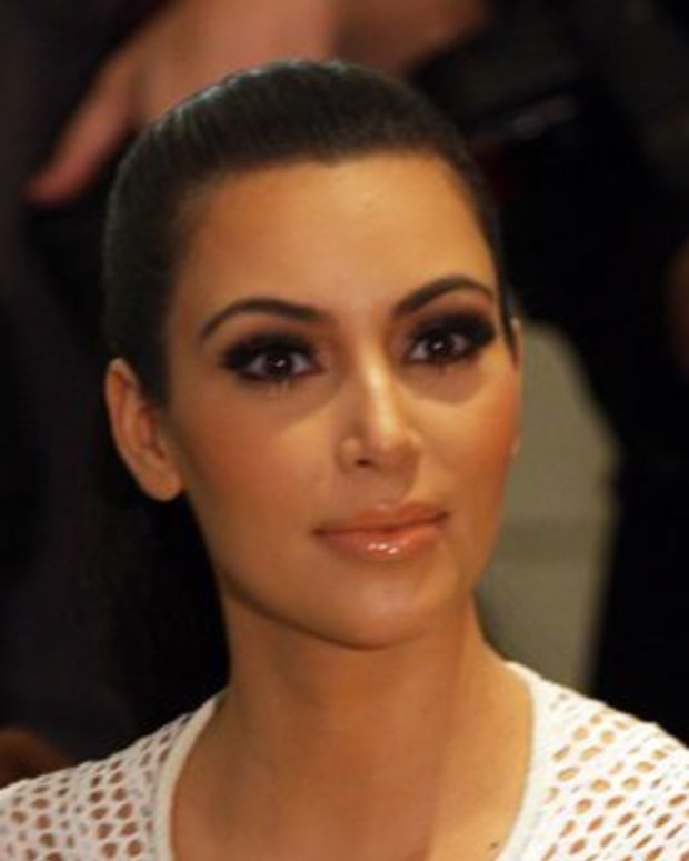 Kim Kardashian Poses Nude In Glitter (Photo) Promo Image