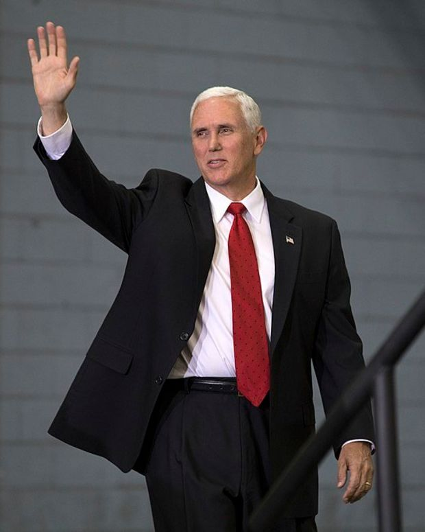 Pence Pledges To Help Christians In The Middle East Promo Image