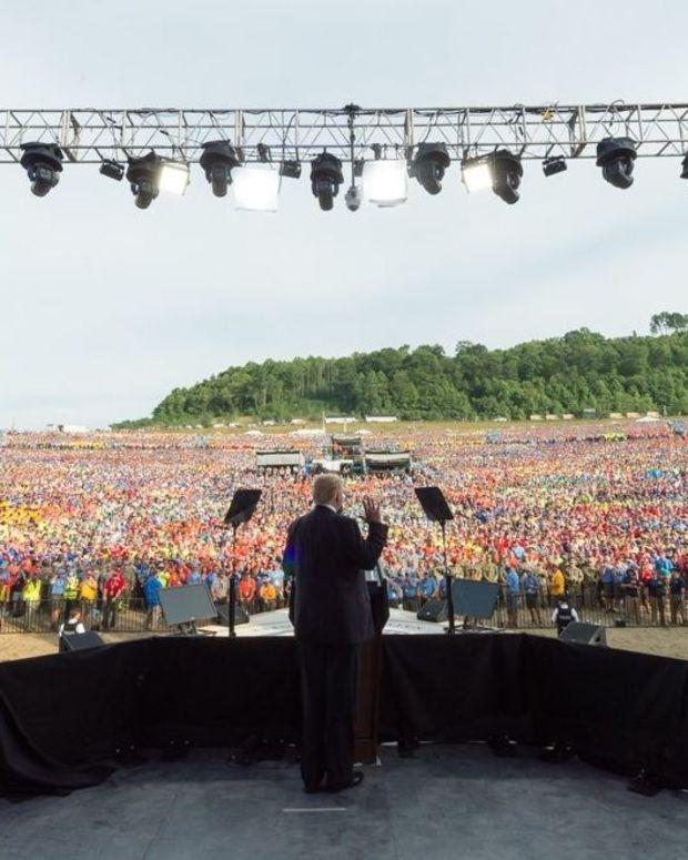 Parents Furious Over Trump's Boy Scouts Speech (Video) Promo Image