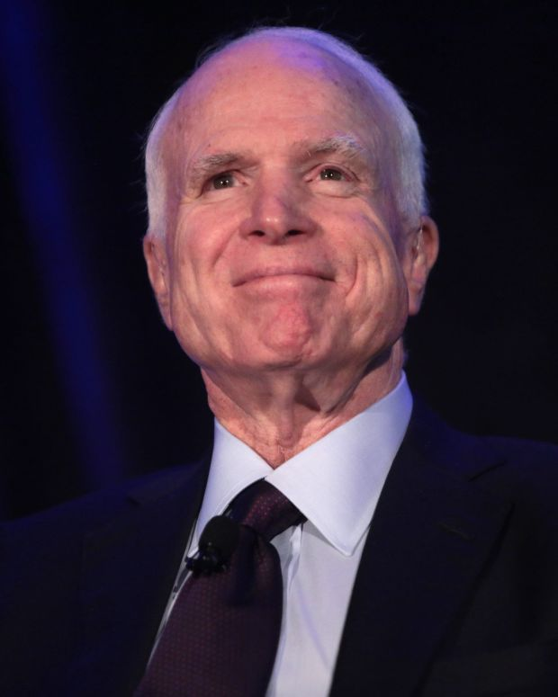 McCain On Trump: 'I've Faced Far Greater Challenges' Promo Image