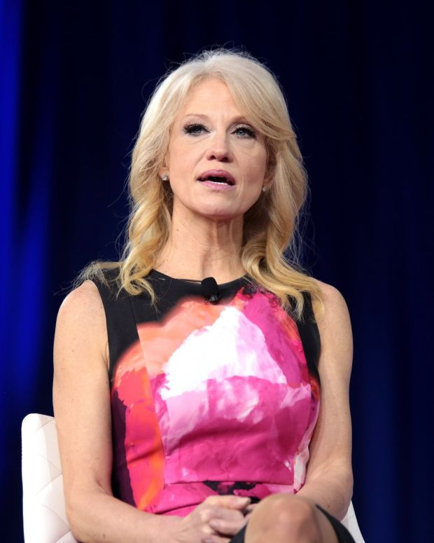 Kellyanne Conway Blasts Clinton For Campaign Book Promo Image