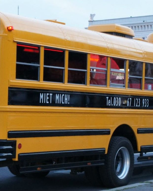 Teen Drives School Bus To Safety (Video) Promo Image