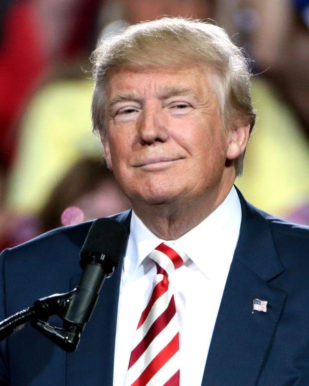 Trump Continues Assault On Media Promo Image