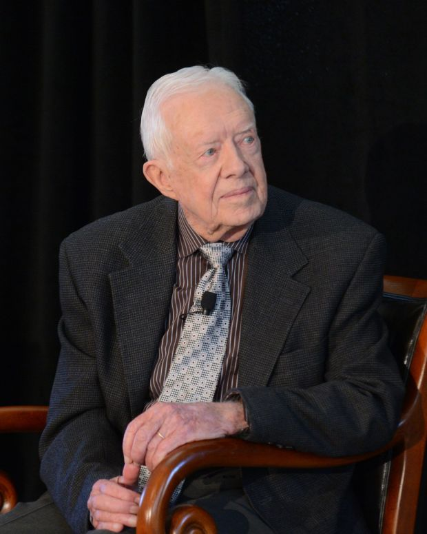 Jimmy Carter Blasts Trump's Foreign Policy Promo Image