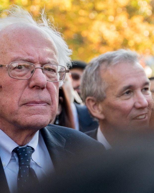 Bernie Sanders Backs Paul Ryan's Democratic Opponent (Video) Promo Image