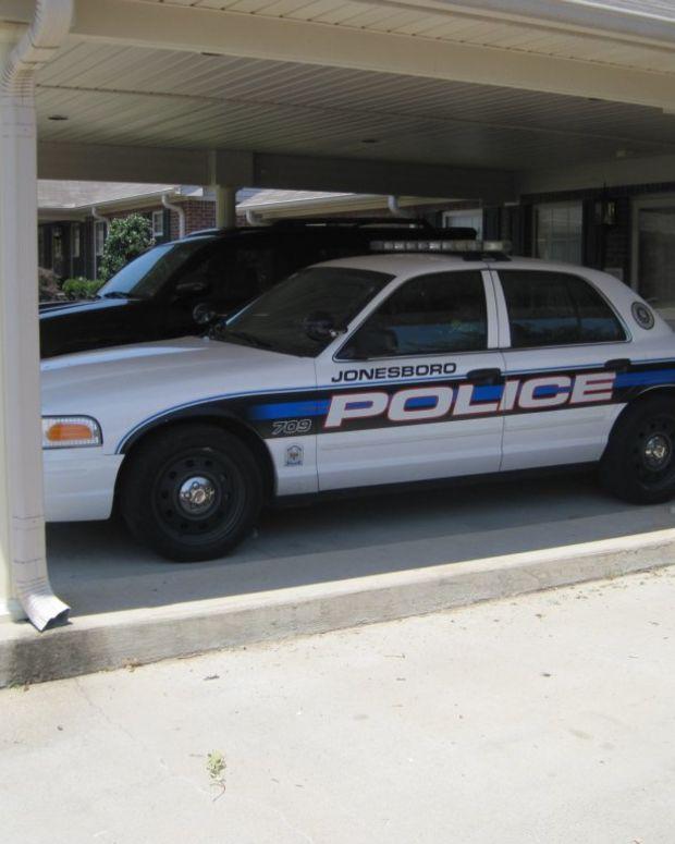 Jonesboro police car