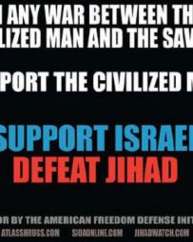 Anti-Islamic ads from the American Freedom Defense Initiative