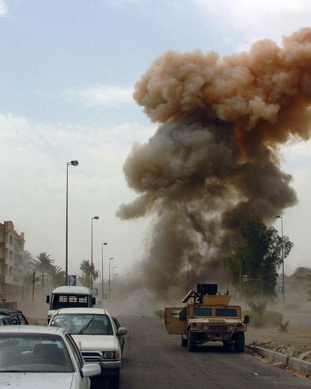 Bomb In Iraq.