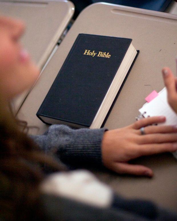 Bible In School.