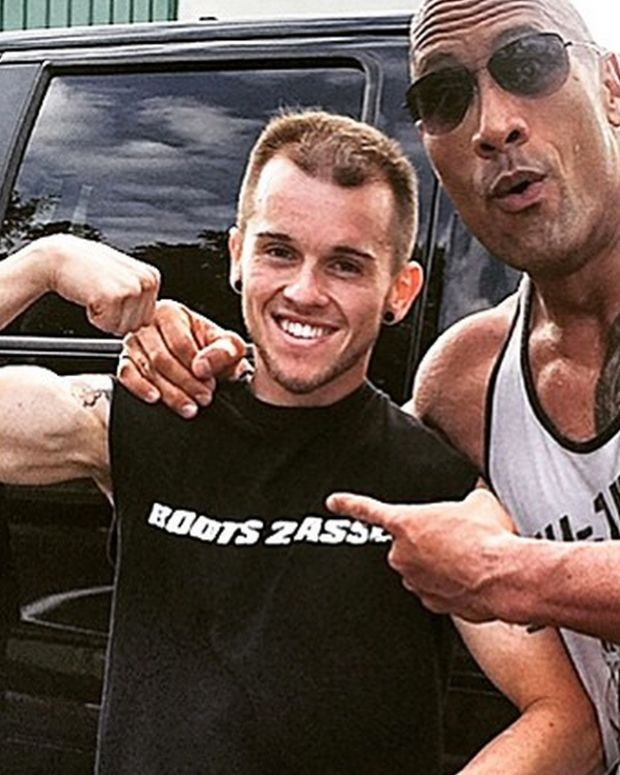 The Rock and Nick Miller.