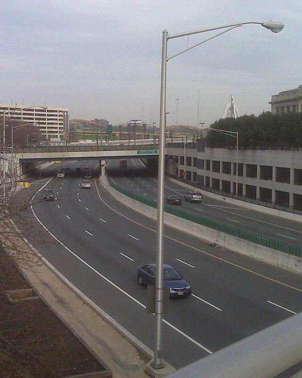 Jones Falls Expressway.