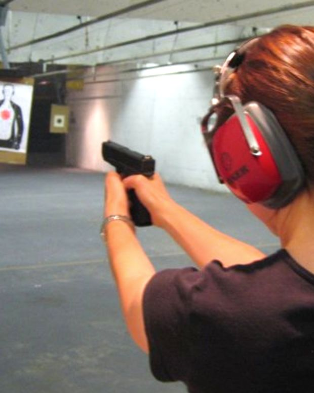 Gun range.