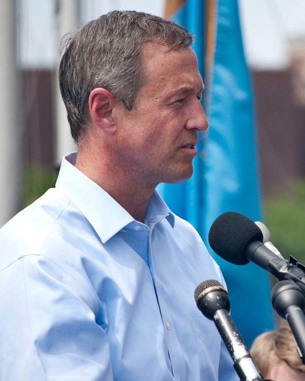Maryland Gov. Martin O'Malley.