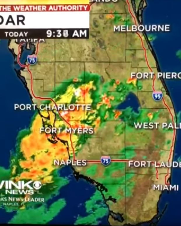 WINK News Weather Map