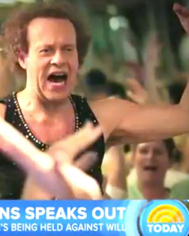 Richard Simmons: I'm Not Being Held Hostage (Video) Promo Image