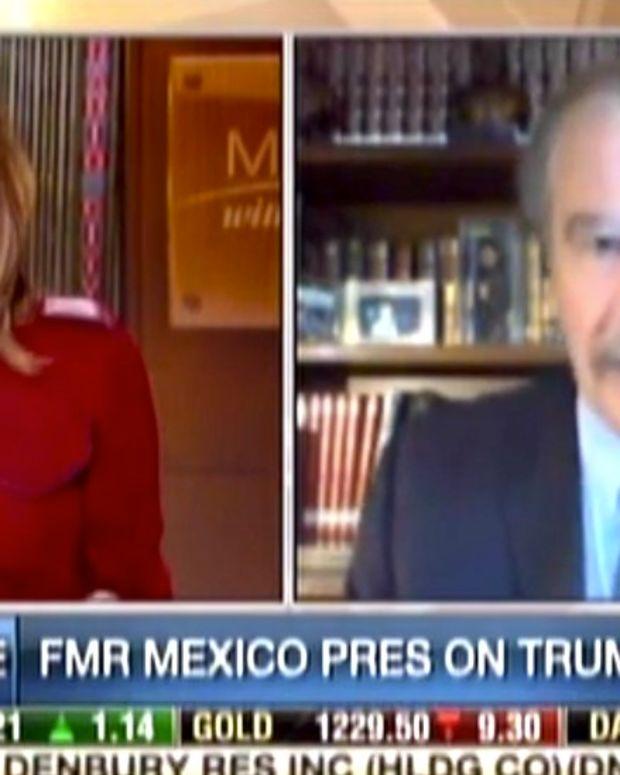 Ex-Mexican President Drops F-Bomb Again On Trump (Video) Promo Image