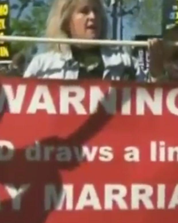 Protests At U.S. Supreme Court.