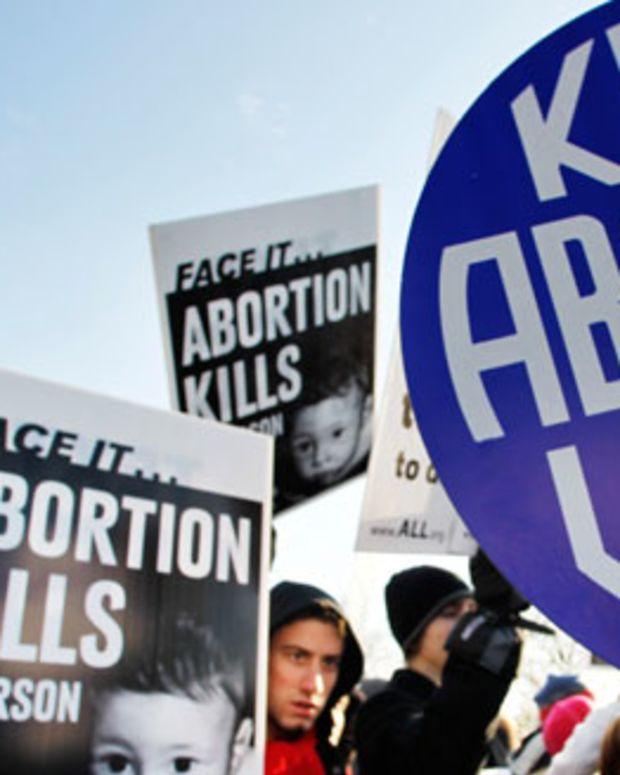 Pro-life and pro-choice