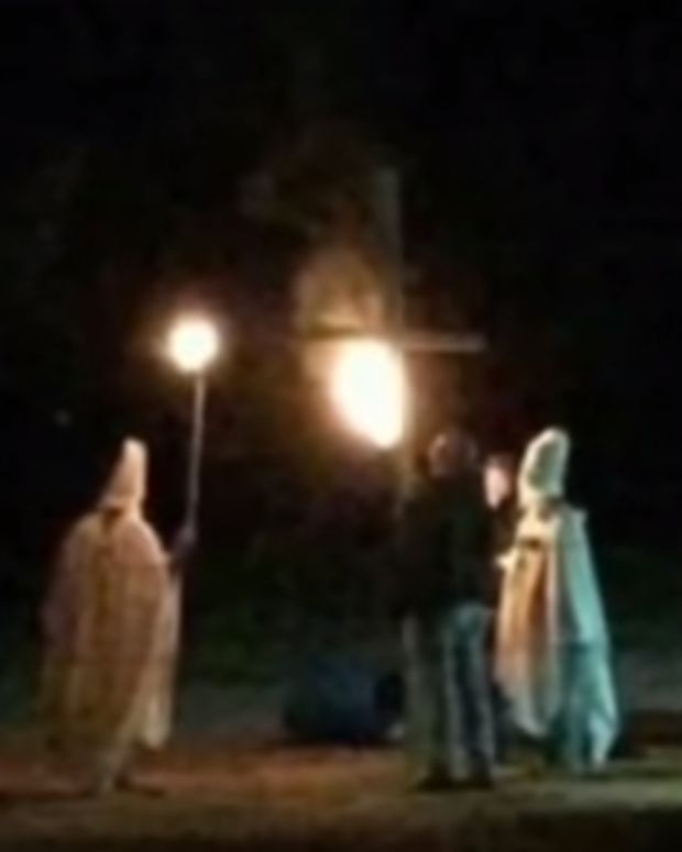 husband of Oklahoma mayor dressed as KKK member