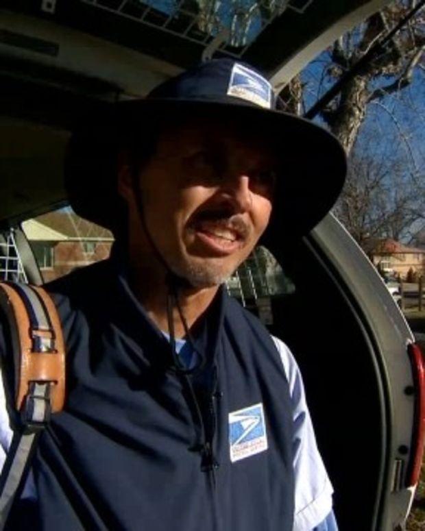 Postal Worker Saves Toddler Wandering Around Traffic Promo Image