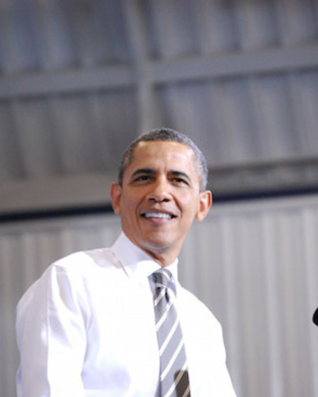 Obama's Approval Rating On The Rise Promo Image