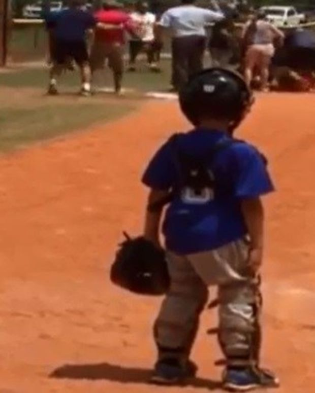Adults Brawl At Little League Game (Video) Promo Image