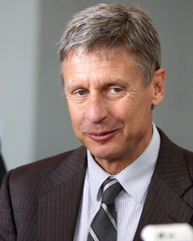 Gary Johnson: Snowden Should Be Pardoned Promo Image