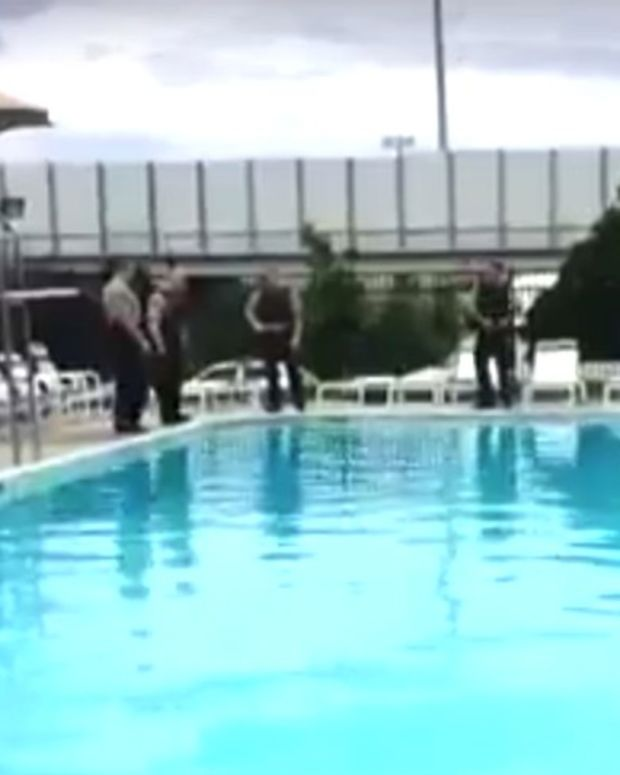 Citizen Saves Drowning Man While Cops Stand By (Video) Promo Image