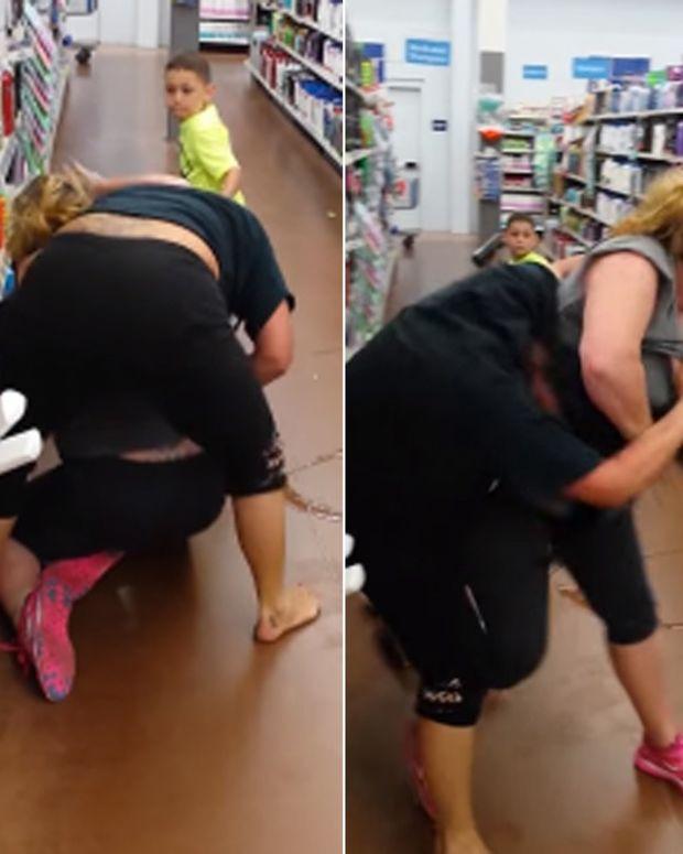 Wal-Mart brawl