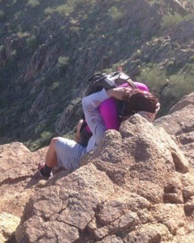 Picture Captures Hiker's Brush With Death (Photo) Promo Image