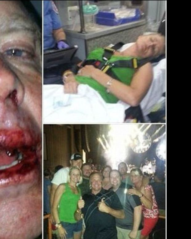 Here Are The Men Who Attacked A NASCAR Star, His Wife, And His Daughter (Photos) Promo Image