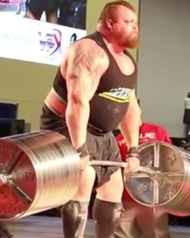 Eddie Hall Deadlifts 1,025 Pounds, Sets Record (Video) Promo Image