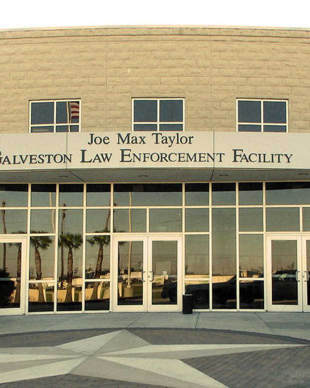 The Joe Max Taylor Galveston Law Enforcement Facility.