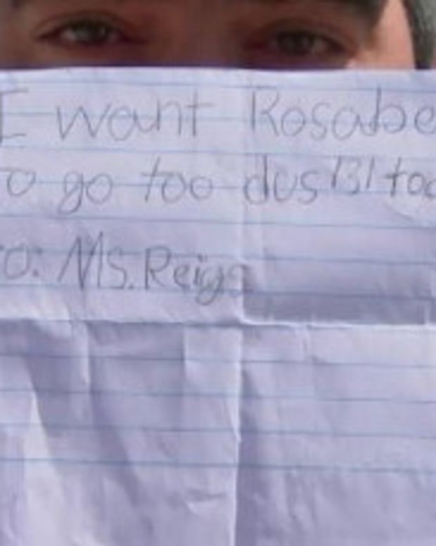 7-Year-Old Girl Tricks School With Fake Note Promo Image