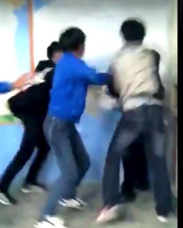 Students Fight Their Teacher In China (Video) Promo Image