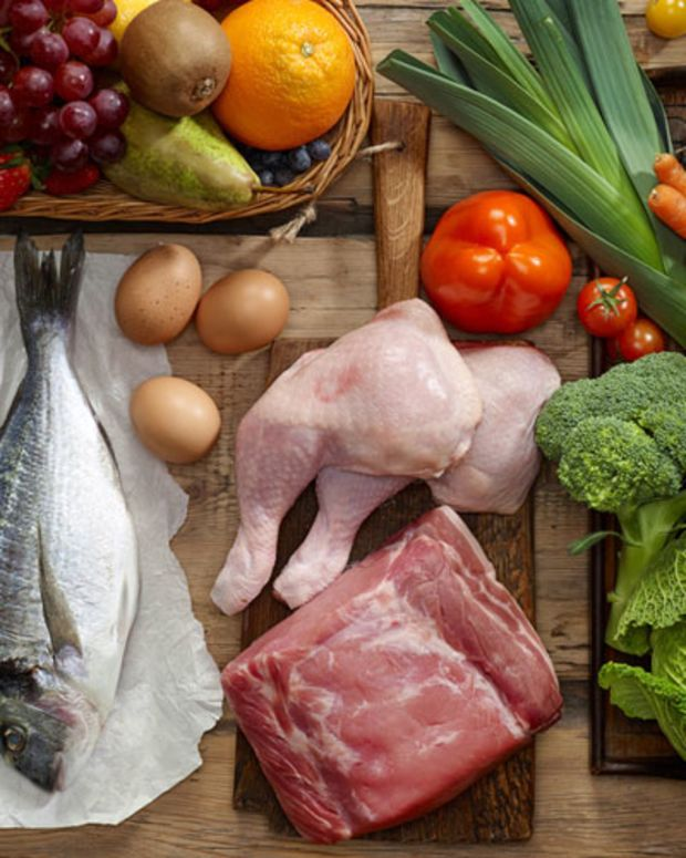 Paleo Table of Foods