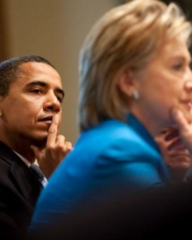 'I'm With Her': Obama Endorses Clinton For President (Video) Promo Image
