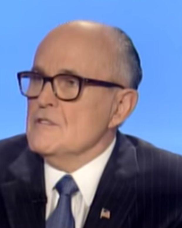 Former New York City Mayor Rudy Giuliani