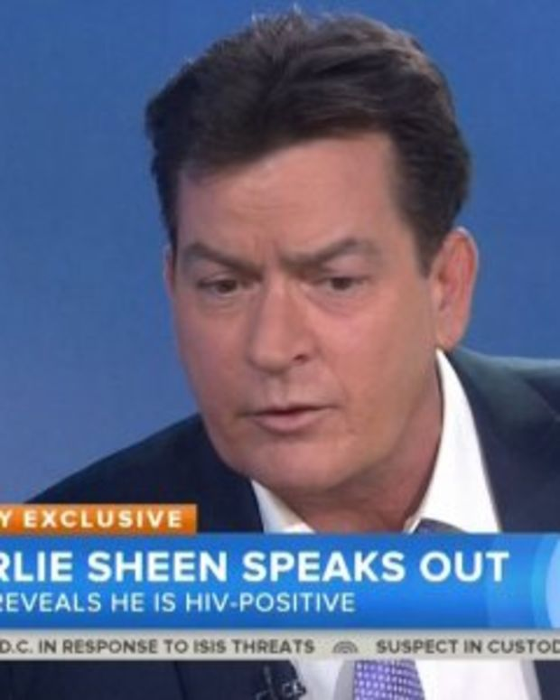 """Charlie Sheen on """"Today"""" show"""