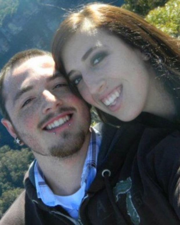 Kalli Medina-Brown and husband